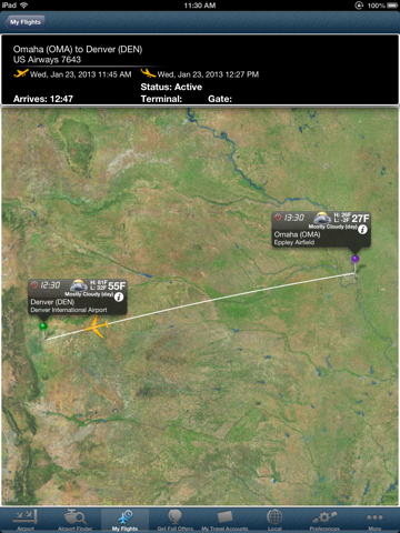 Denver Airport Pro (DEN) Flight Tracker radar | App Price Drops