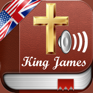 Holy Bible Audio MP3 and Text in English - King James Version app