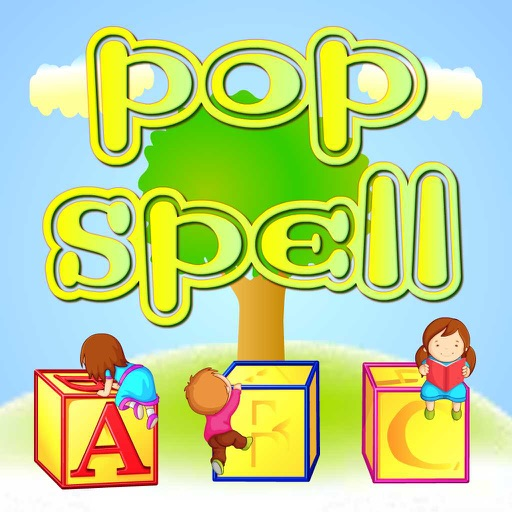Pop Spell Endless fun popping game to Learn Phonics and Spellings for Preschool Kindergarten and First grade kids