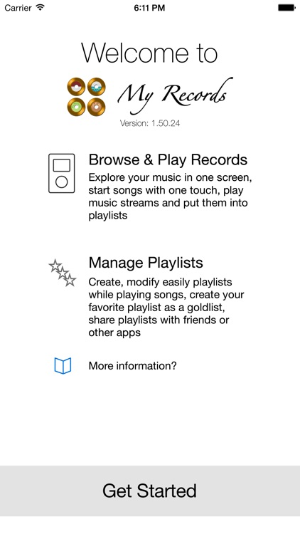 My Records Gold - Music Player & Playlist Manager