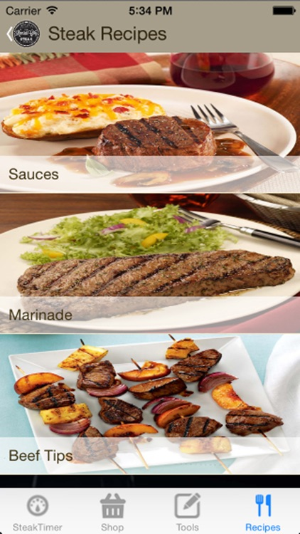 Steak Grilling Timer & Recipes - Free screenshot-3