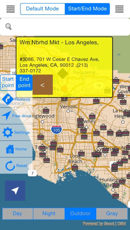 California Offline Map & Navigation & POI & Travel Guide & Wikipedia with Traffic Cameras Pro screenshot-4