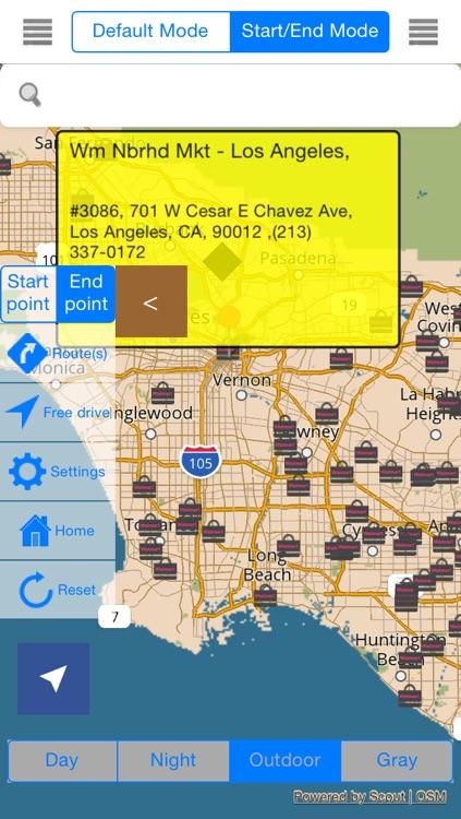 California Offline Map & Navigation & POI & Travel Guide & Wikipedia with Traffic Cameras Pro screenshot-4