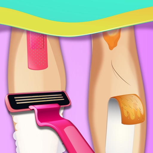 Girls Shaving Salon - Leg and Arm Shave