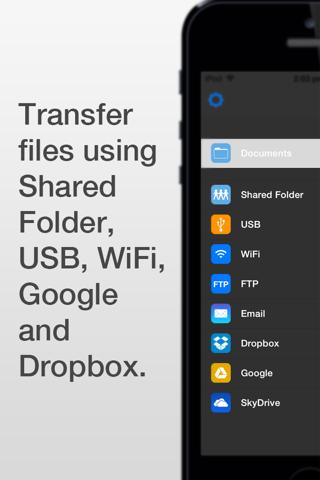 Screenshot of WiFi HD - Instant Hard Drive SMB Network Server Share