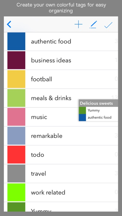 MyShelf -  Note & Image Manager. Organize in color. screenshot-3