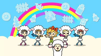 【無料版】メリーさんのひつじ ~ぬりえで遊べる赤ちゃん・子供向けのアニメで動く絵本アプリ:えほんであそぼ!じゃじゃじゃじゃん童謡シリーズのおすすめ画像4