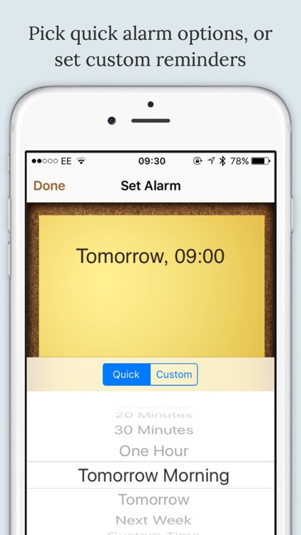 BugMe! Stickies - Ink Notepad with Alarms & Reminders
