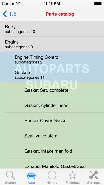 Autoparts for Subaru screenshot-3