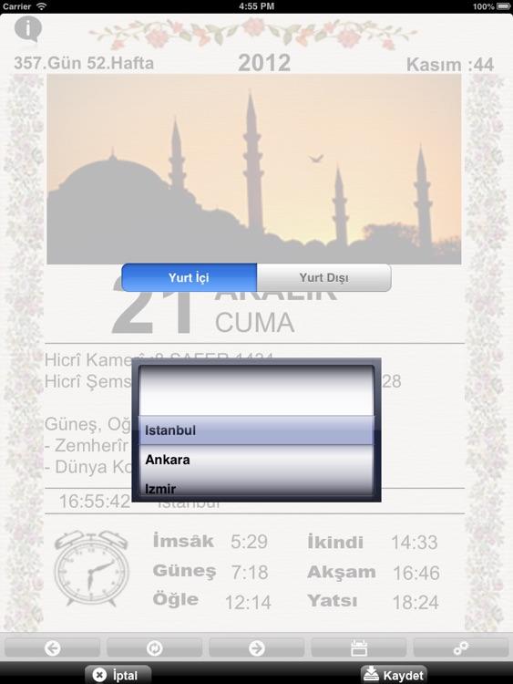Maarif Takvimi For iPad screenshot-3