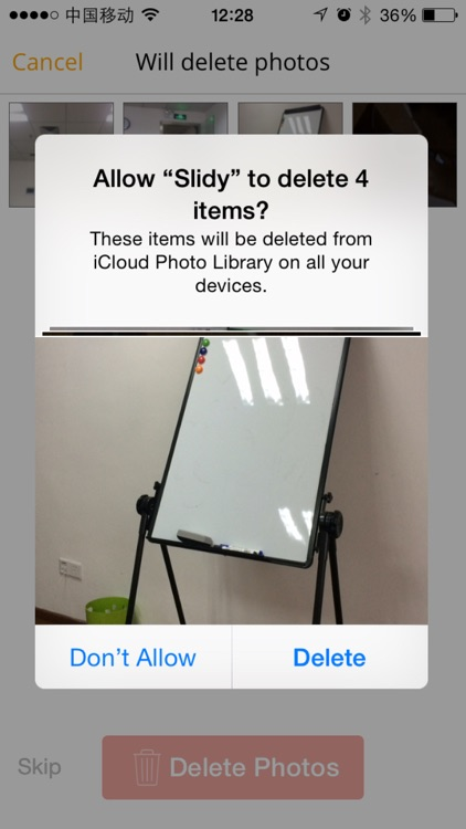 Slidy - The most effective way to delete and manage your photos, free storage space screenshot-3