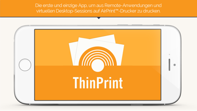 ThinPrint Mobile Print – Remote App- und Virtual Desktop PrintingScreenshot von 1