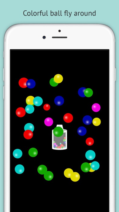 Touch and Release! Baby's Magic Spray【Free educational app for Toddlers and Kids】 screenshot one