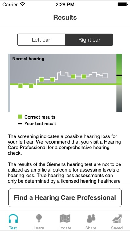 Siemens Hearing Test screenshot-3