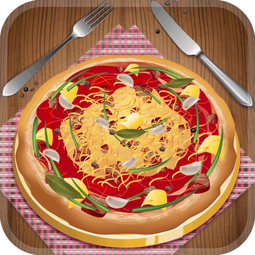 Hello My Delicious Pizza Diner Dress Up Maker Game - Love To Bake Virtual Kitchen Fun For Kids Edition - Free App Icon