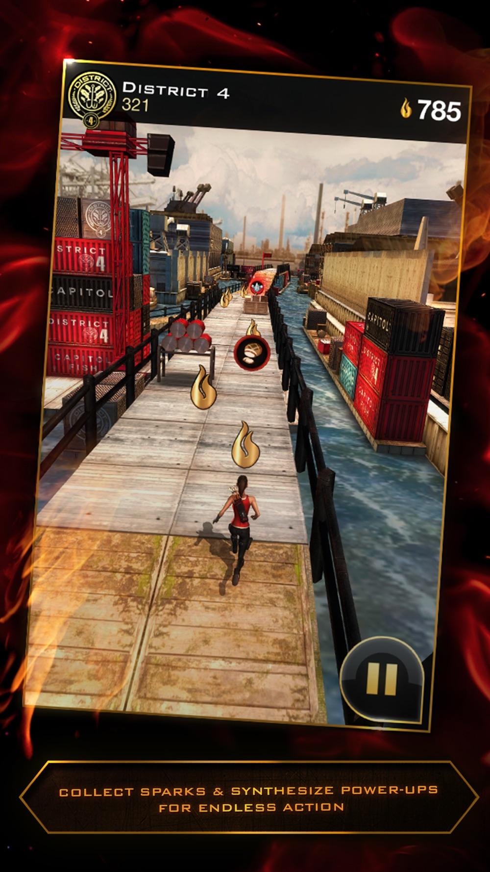 Hunger Games: Catching Fire - Panem Run hack tool