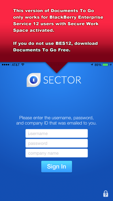 Documents To Go® - for BES12