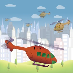 Fly Helicopter - City Adventure