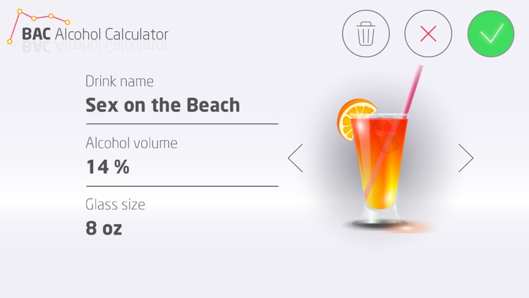 BAC Alcohol Calculator screenshot-3