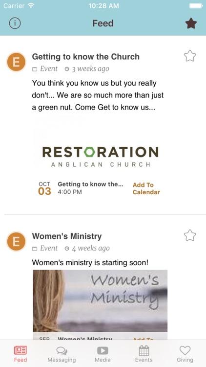 Restoration Church Connect