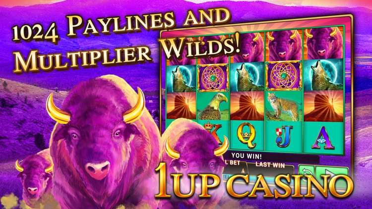Slot Machines - 1Up Casino - Best New Free Slots screenshot-2