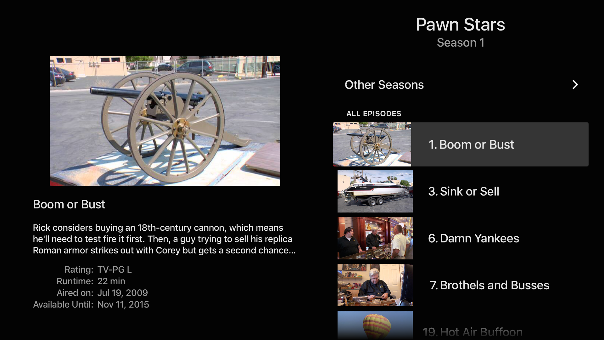 HISTORY: TV Shows on Demand screenshot 15