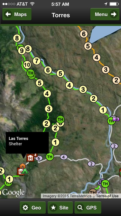 Torres del Paine Park Map screenshot-1