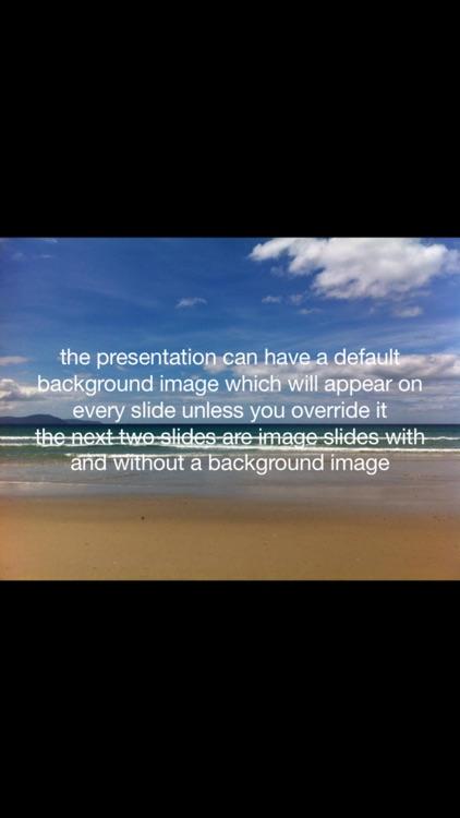 Simple Presentations