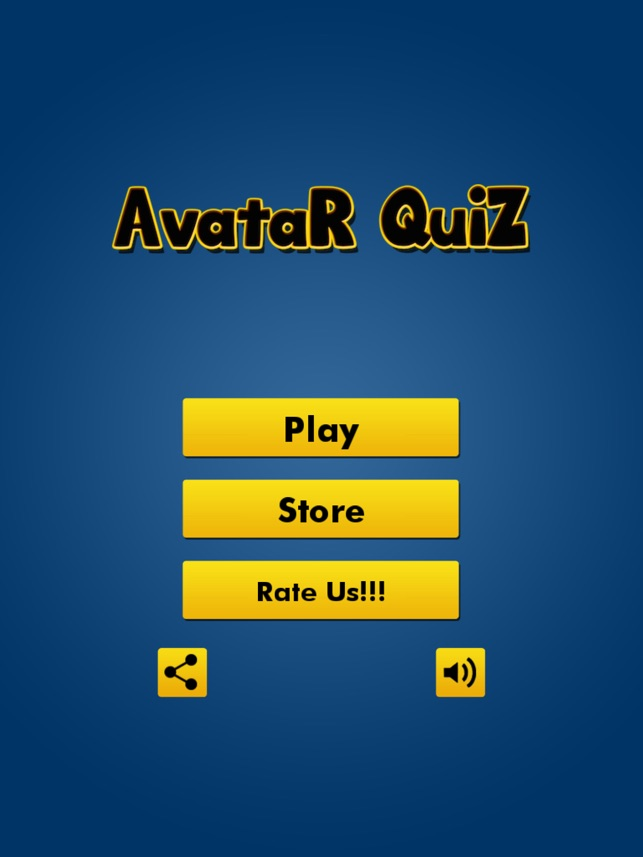 Anime Quiz Games for Avatar The