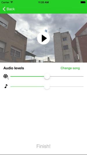 Resultado de imagen para añade musica a tus videos app