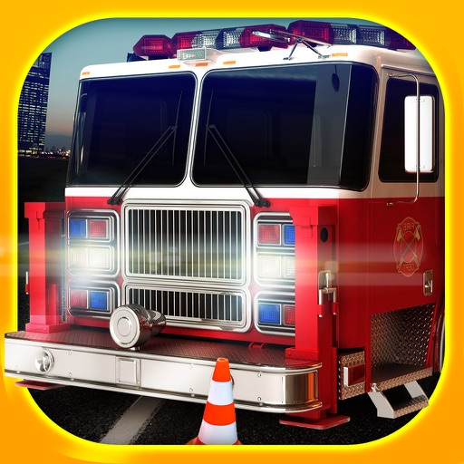 Emergency Simulator 3D - Real Driving and Parking Test Sim - Drive and Park Ambulance, Fire Truck and Police Car icon