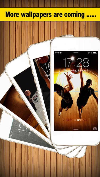 Basketball Screen - Wallpapers & Backgrounds Maker with Cool HD Themes of Players & Balls screenshot-4