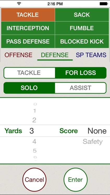 Stat Tap Football screenshot-3