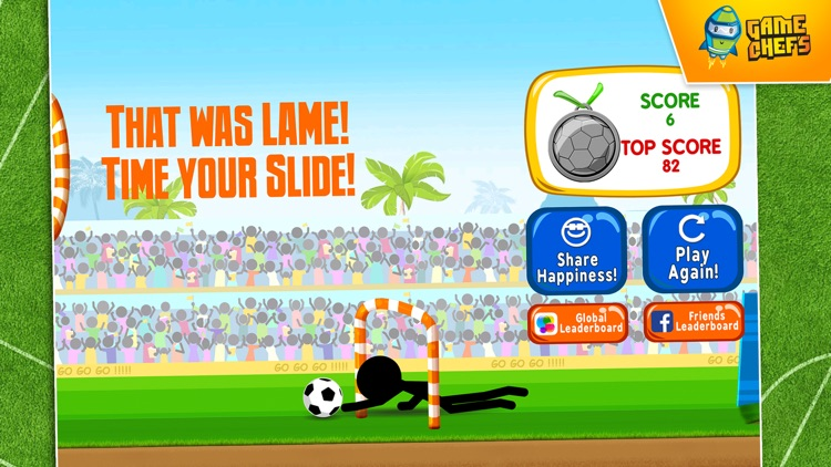 Stickman Flick Shoot : Best Free Game For Football (Soccer) Fans screenshot-4