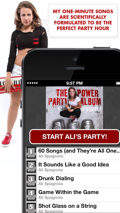 Ali's Power Album: Hour Party Playlist Maker screenshot-4