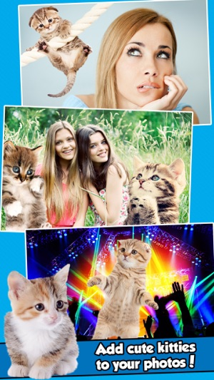 InstaKitty - A Funny Photo Booth Editor with Cute Kittens