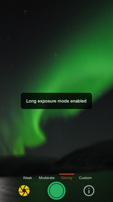 Northern Lights Photo Taker app