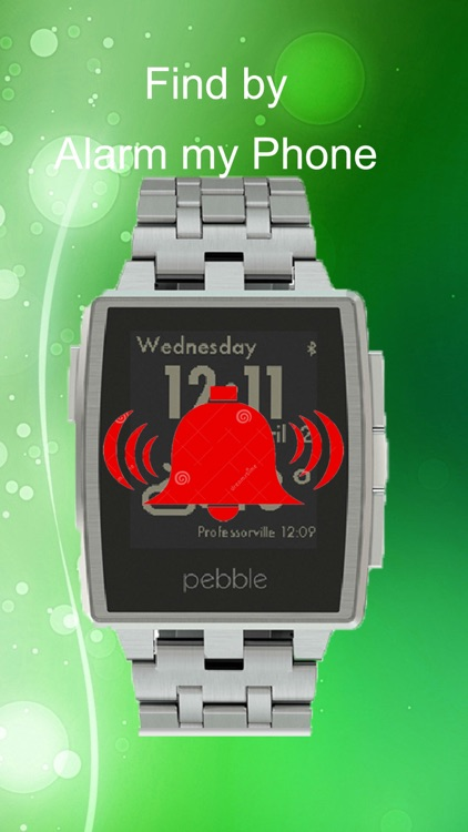 Find My Phone with Pebble Smartwatch screenshot-2