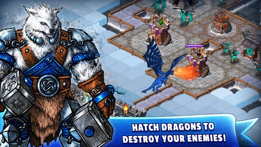 WinterForts: Exiled Kingdom Empires at War (Strategic Battles and Guilds) Screenshot