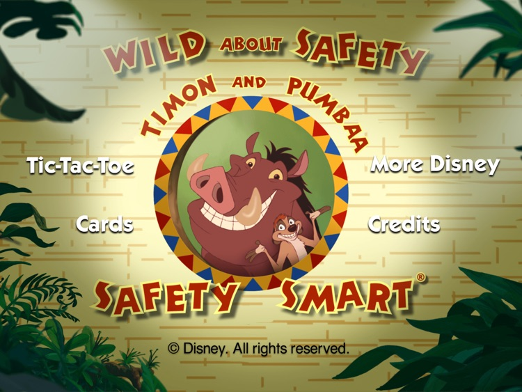 Disney Wild About Safety XL
