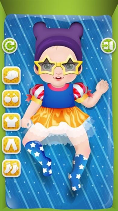 赤ちゃんの洗浄、ヘアサロン - 子供向けゲームのおすすめ画像3