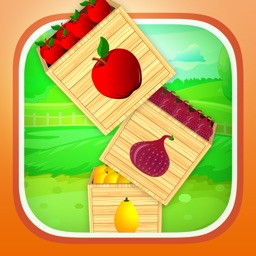 A Happy Farm Fruit Garden GRAND - Little Farmer Drop Game for Kids