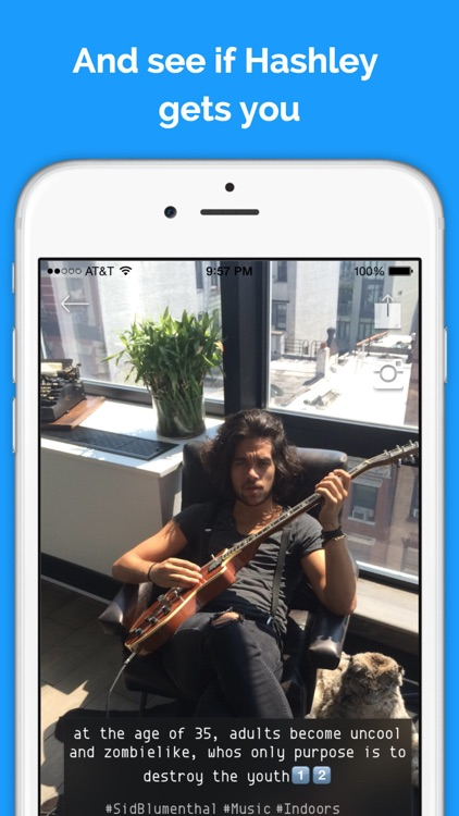 Hashley - Artificial Intelligence For Your Photos!
