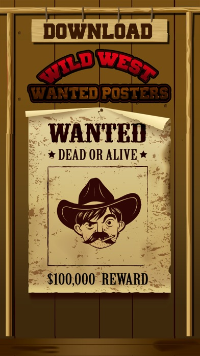 wild west wanted poster maker pro