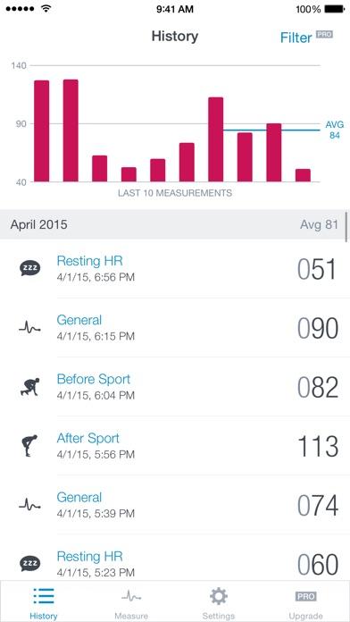 Runtastic Heart Rate Monitor app image