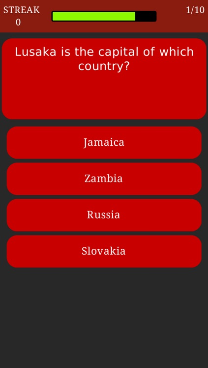 World Capitals Trivia - Geography Quiz about All Countries and Capital Cities screenshot-0