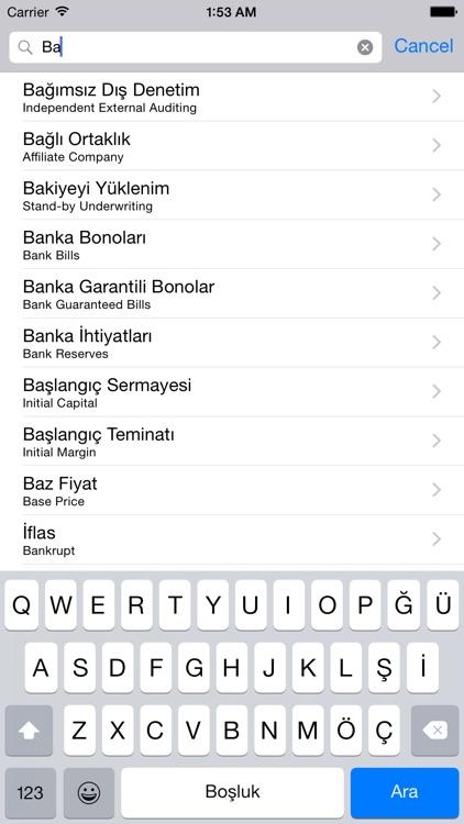 Finans Sözlüğü screenshot-3