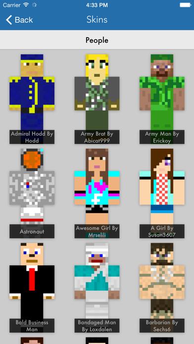 Skins Pro for Minecraft (Unofficial)のおすすめ画像3