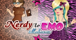 Nerdy to Emo Makeover