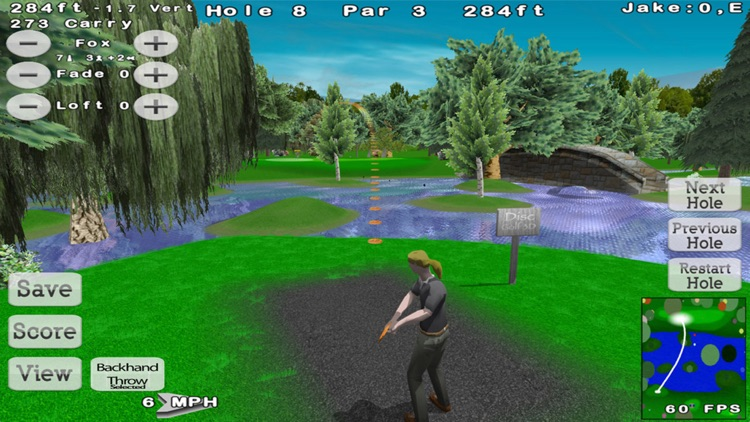Disc Golf 3D Lite screenshot-3
